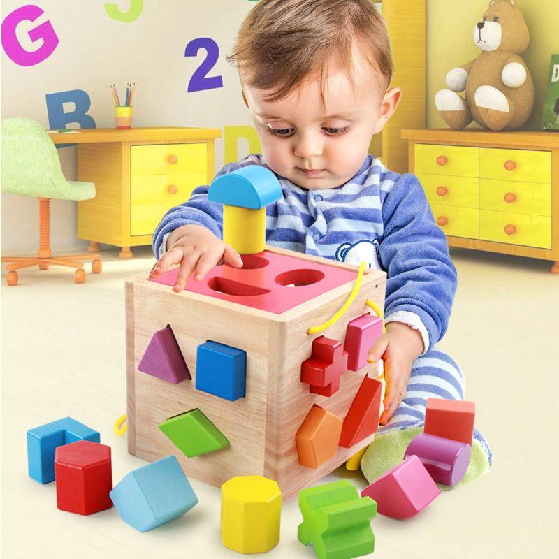 Children's baby blocks Male baby good early childhood ...
