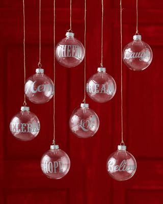 DIY with michaels\' ornaments and etching cream, to hang from ...