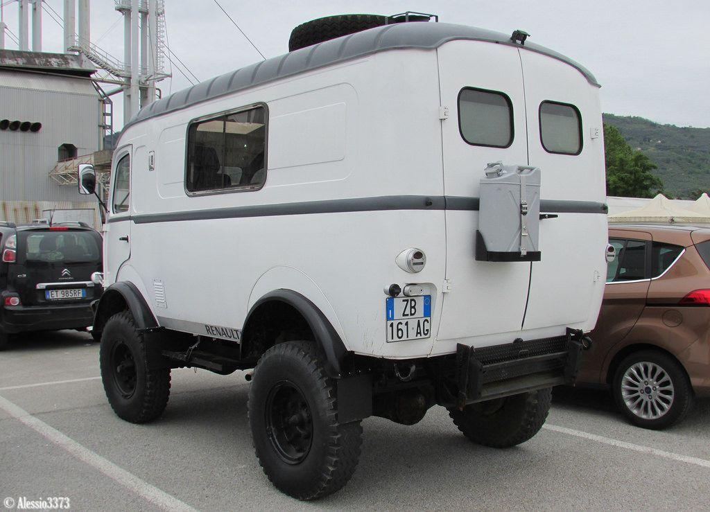 Favori RENAULT Goélette R2087 4x4 fourgon surélévé 1961 - vroom vroom  GT58