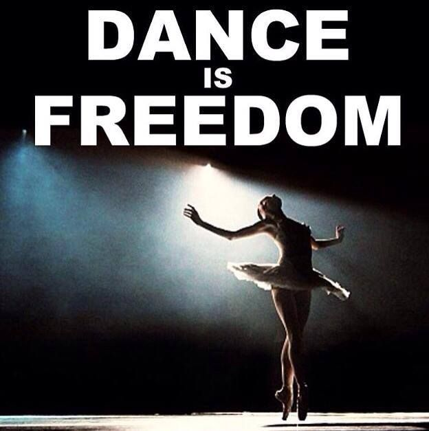 Dance is freedom!