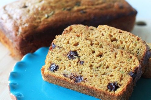 This recipe combines the classic summer quick bread with the comforting fall quick bread into a late summer/early fall treat.