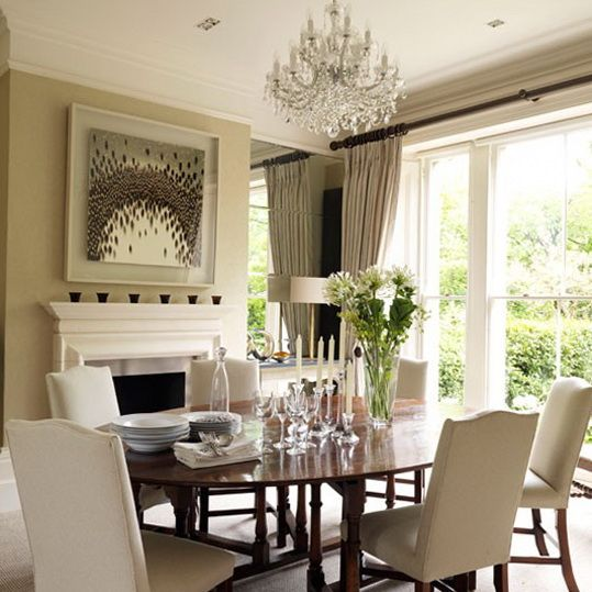 Victoria Dreste Designs Dining Rooms Whats Your Style Love A Neutral Colored Room