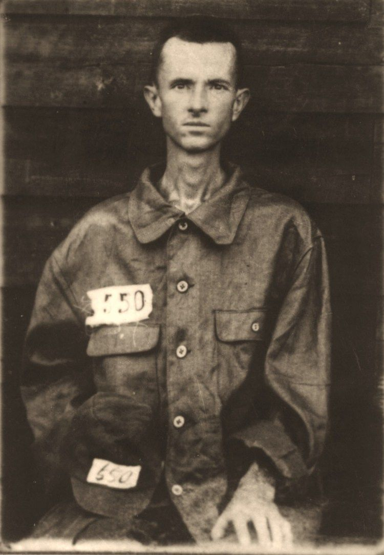 As a noncommissioned prisoner. 1943