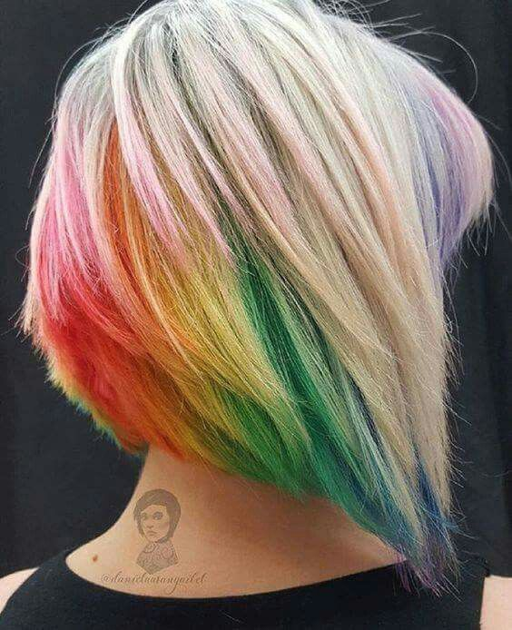 Vicky What Do You Reckon Hair Highlights Short Hair Color Dyed Hair