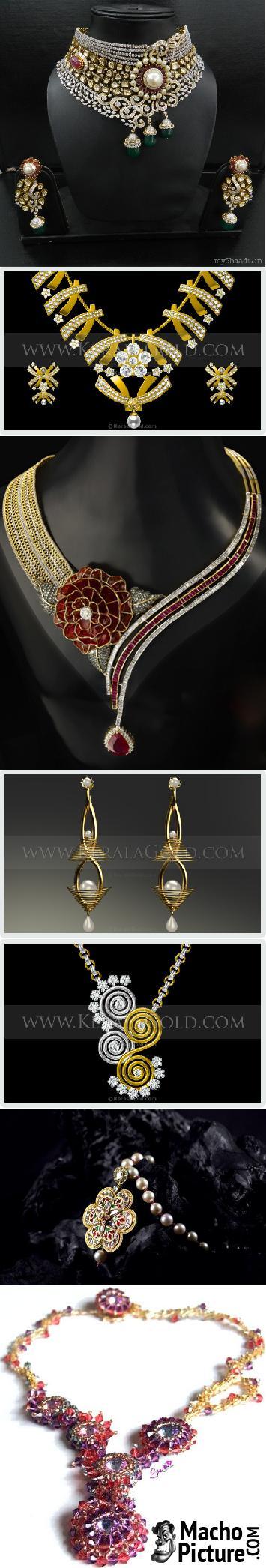 Designer jewellery - 8 PHOTO!