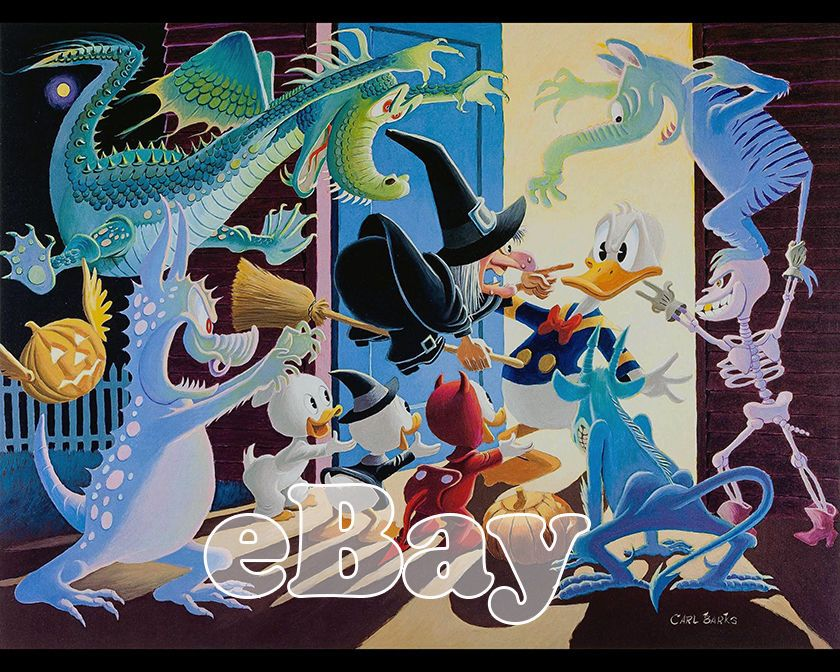 Rare WALT DISNEY'S DONALD DUCK Cartoon 8 X 10 Photo #2 CARL BARKS Scrooge McDuck