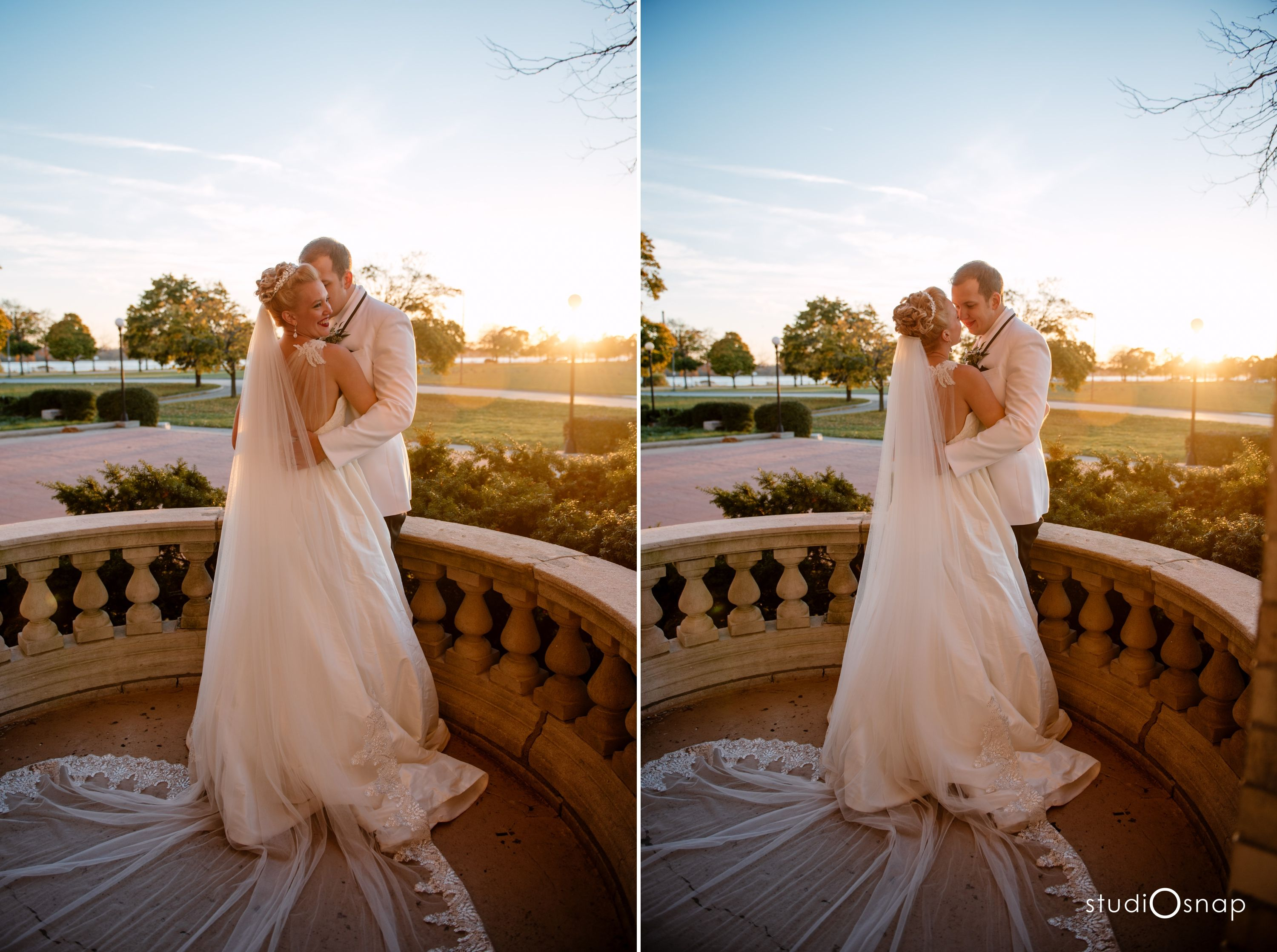 Belle Isle State Park Wedding Detroit Studiosnap Modern Venue Photography Photographer Photos Outdoor Conservatory
