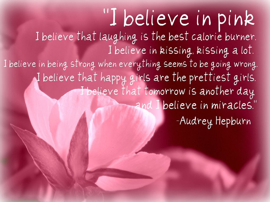 Quote for Girls and Breast Cancer Awareness This fits a very sweet young woman