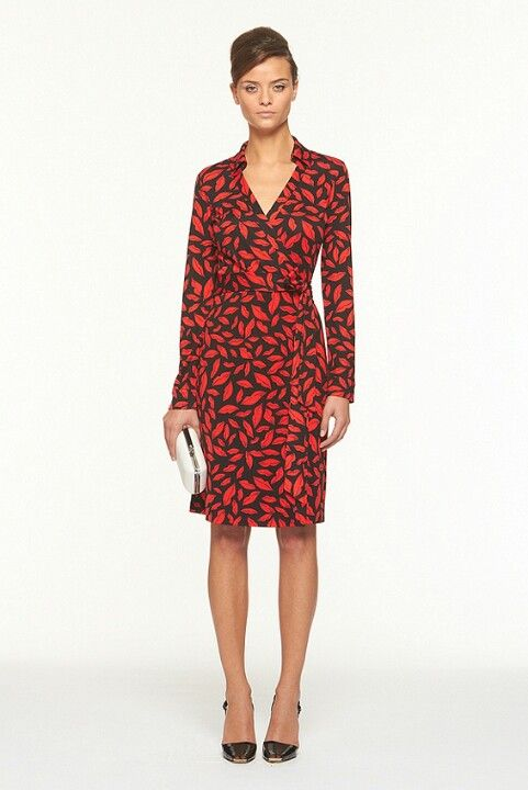 44a323435b45 Dianne von Furstenberg wrap dress-- the BEST wrap dresses you will ever buy