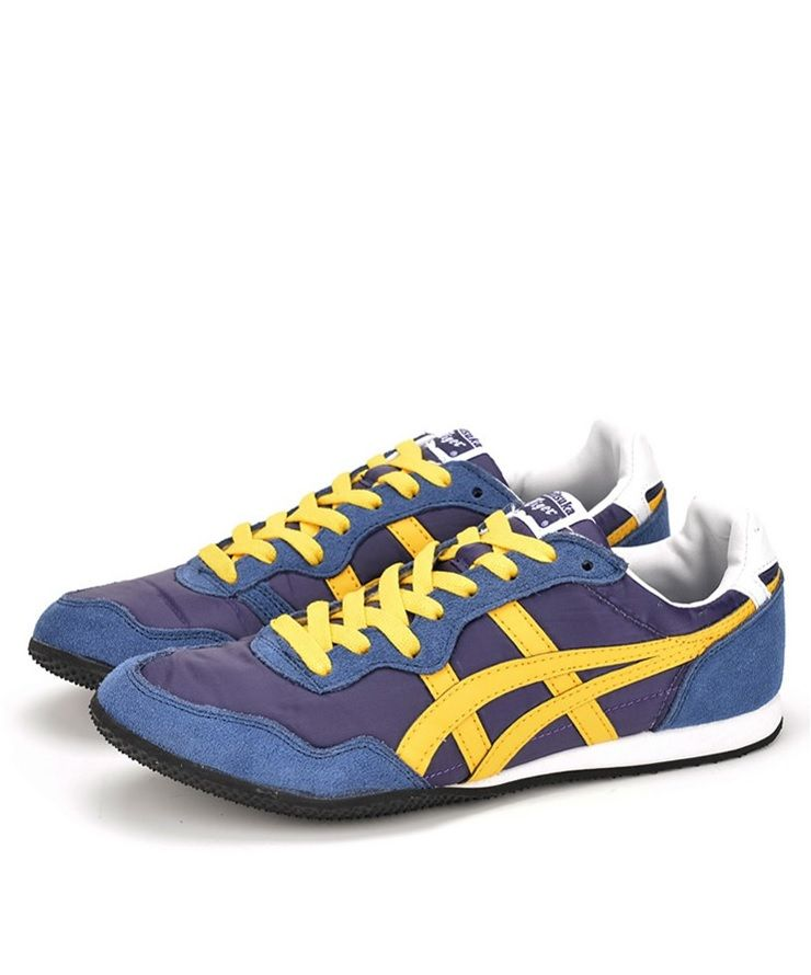 Shoes men · Onitsuka Tiger Serrano: Navy/Yellow