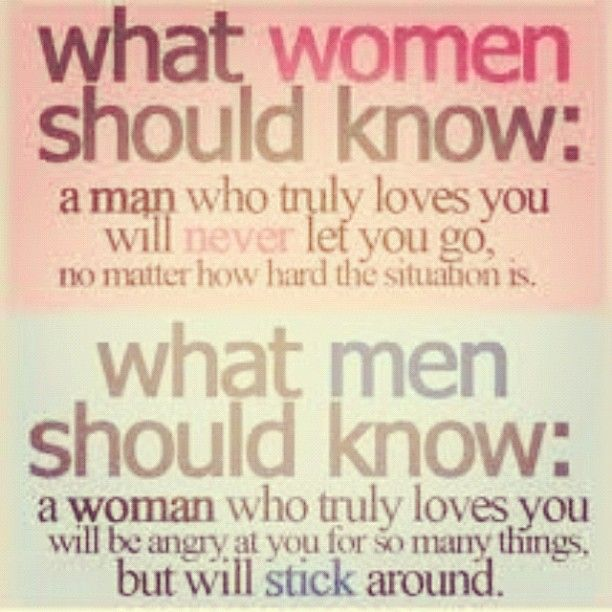 How A Man Should Love A Woman Quotes: Man Or Woman, If Someone Never Lets You Go