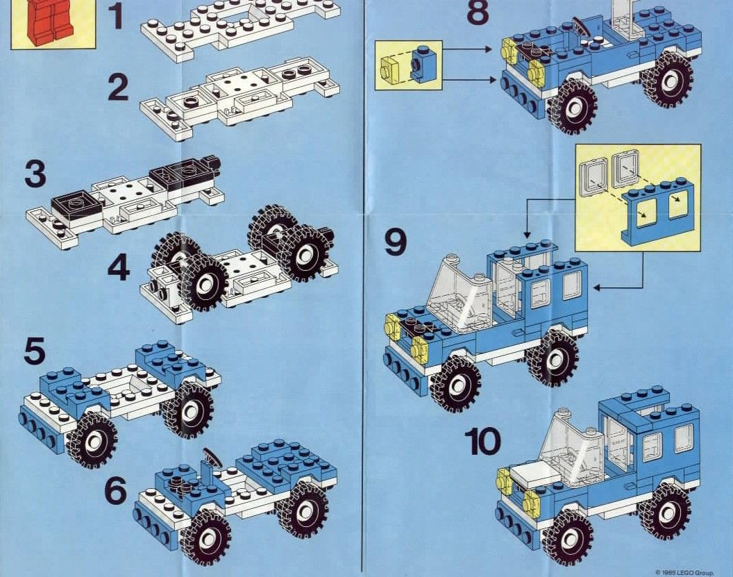 Old LEGO® Instructions Lego