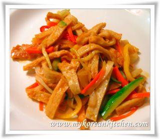 Korean Fish Cake Side Dish Recipe Korean Food Side Dishes Korean Fish Cake Korean Side Dishes