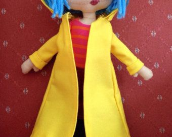 Coraline Doll Pattern Make Your Own Little Me As Seen In Etsy Coraline Doll Coraline Costume Coraline
