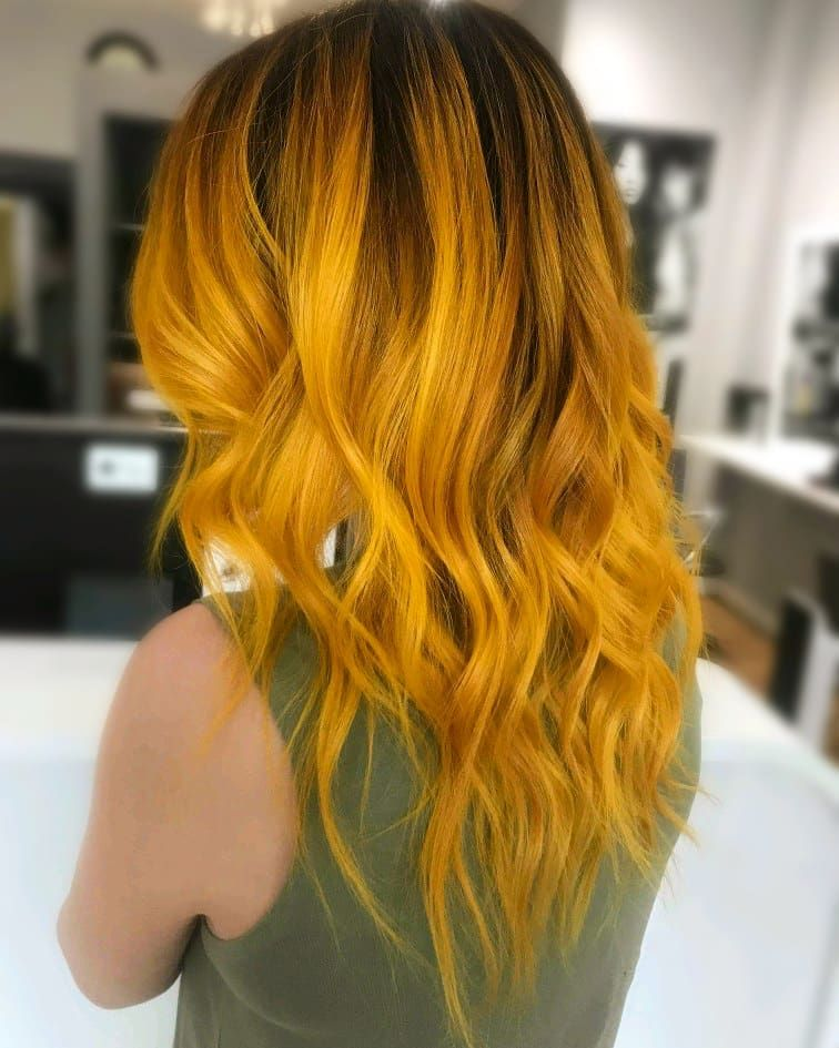 Mustard Yellow Hair Colors Are Trending On Instagram Right Now