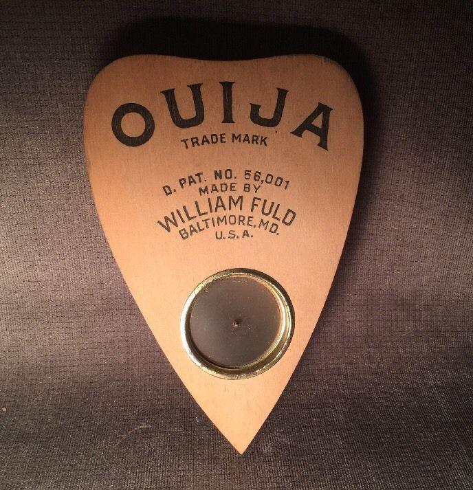 Rare VHTF Vintage Original William Fuld Wood Wooden