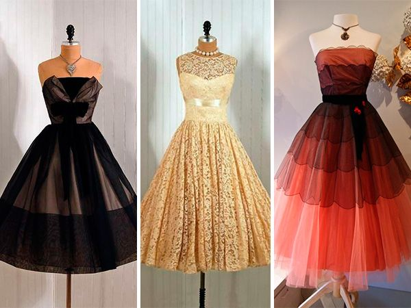 Vestidos de fiesta estilo hollywood
