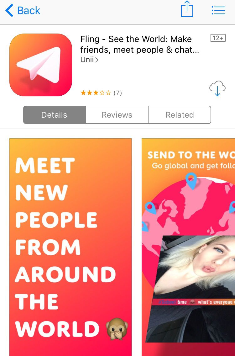 what is a fling app
