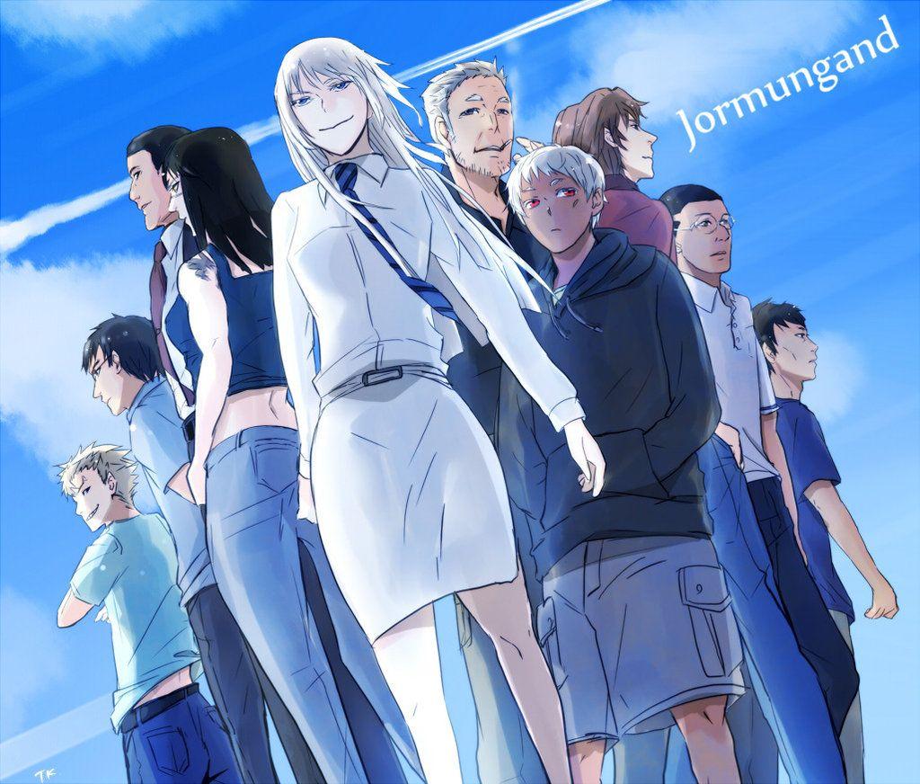 Jormungand Anime Anime Comics Anime Images