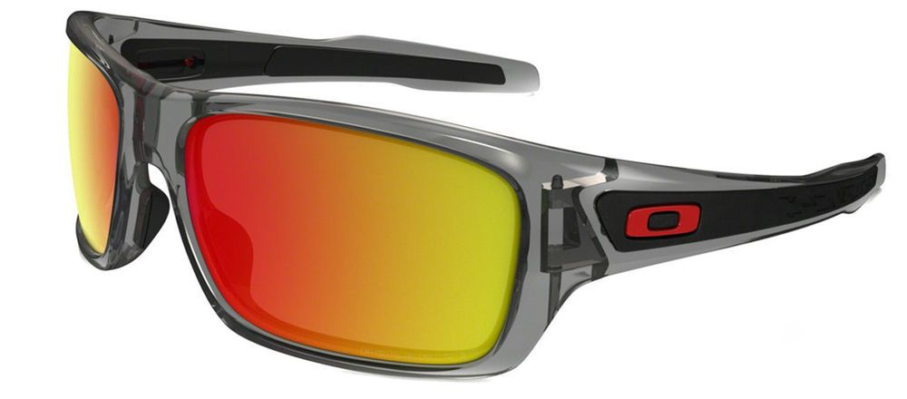 601fc793a6 Oakley MPH Turbine Sunglasses OO9263-49 Matte Dark Grey W  Fire Iridium  Lens NIB  fashion  clothing  shoes  accessories  mensaccessories ...