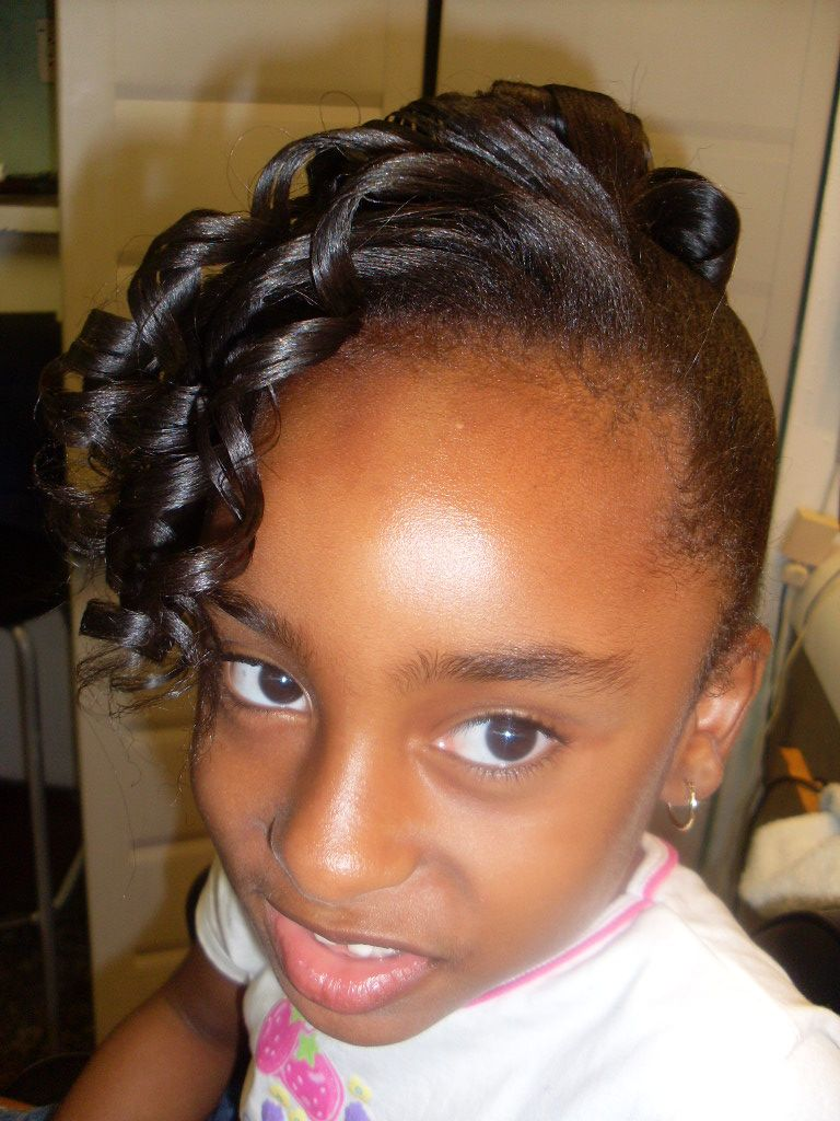 Stupendous 1000 Images About Kids Hair On Pinterest Kids Hair Styles Short Hairstyles For Black Women Fulllsitofus