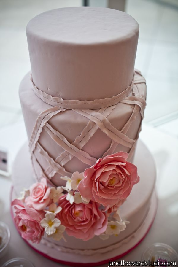 Gorgeous pink cake - perfect for spring!