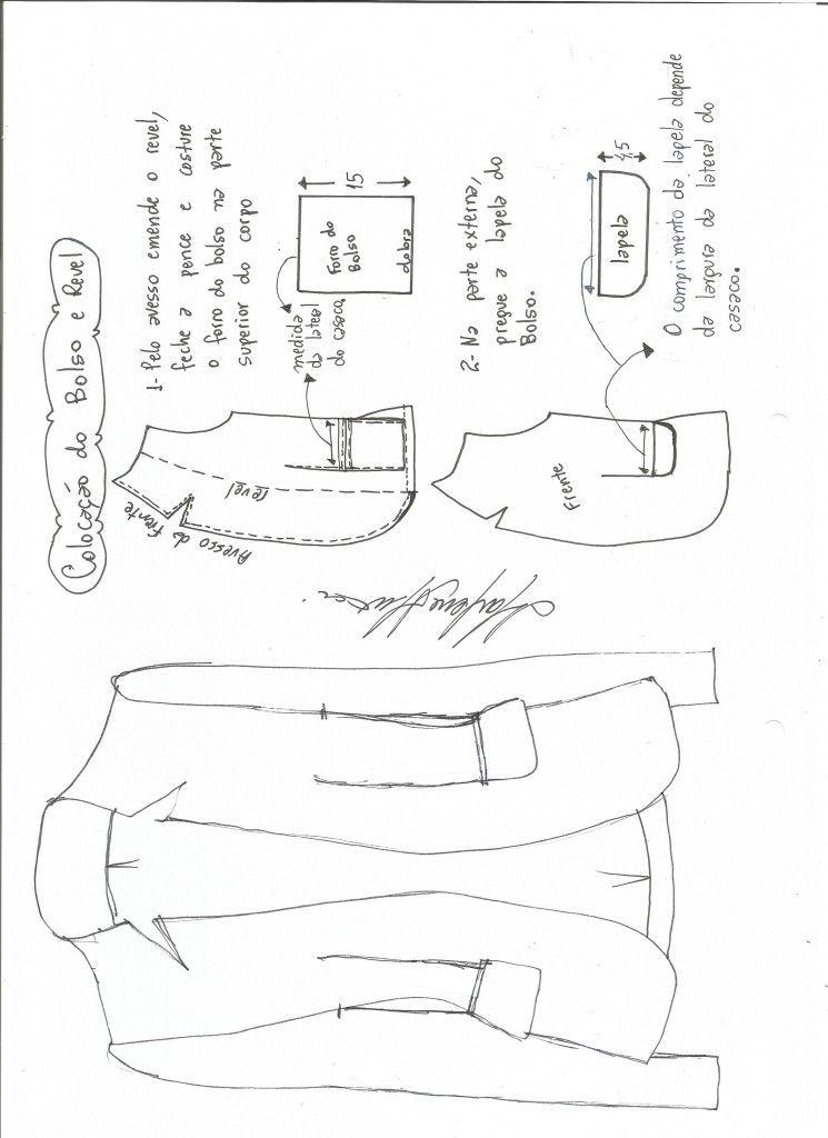 Modelagem Gola Com Lapela Tipo Blazer