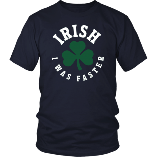 380afcd3 Irish I Was Faster Funny Running St. Patrick's Day Tshirt   St ...