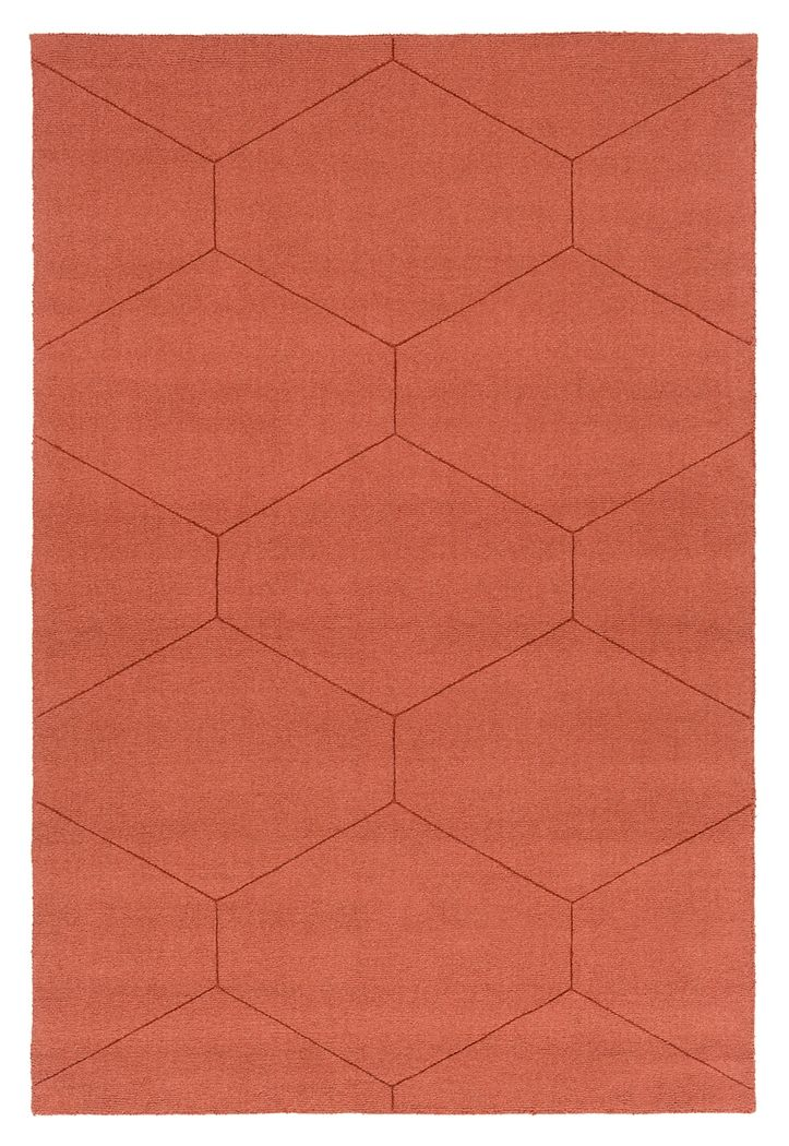area rugs with orange accents living room home accents ashlee 5 7 6