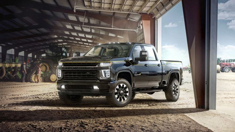 Chevy And Carhartt Link On 2021 Silverado 2500 Hd Special Edition