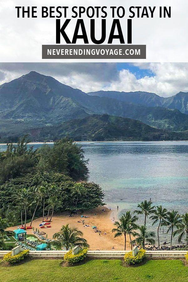 A complete guide on where to stay in Kauai, Hawaii! | hawaii travel, kauai hawaii