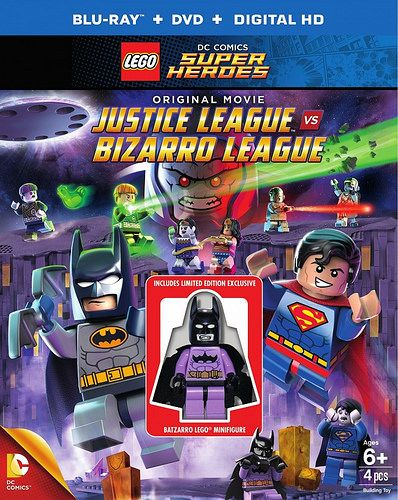 LEGO DC Super Heroes Justice League Bizarro Batman Minifigure Sealed