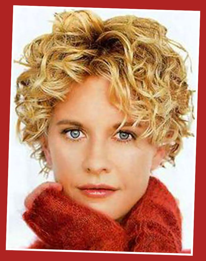 Hairstyles Curley Meg Ryan Blonde Short Curly Hairstyles Meg Ryan Images Pictures Curly Hair Styles Curly Hair Pictures Haircuts For Curly Hair