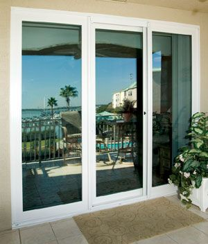 3 panel glass sliding door google search ideas for the for Window installation orlando