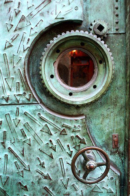 copper door by tbug2, via flickr