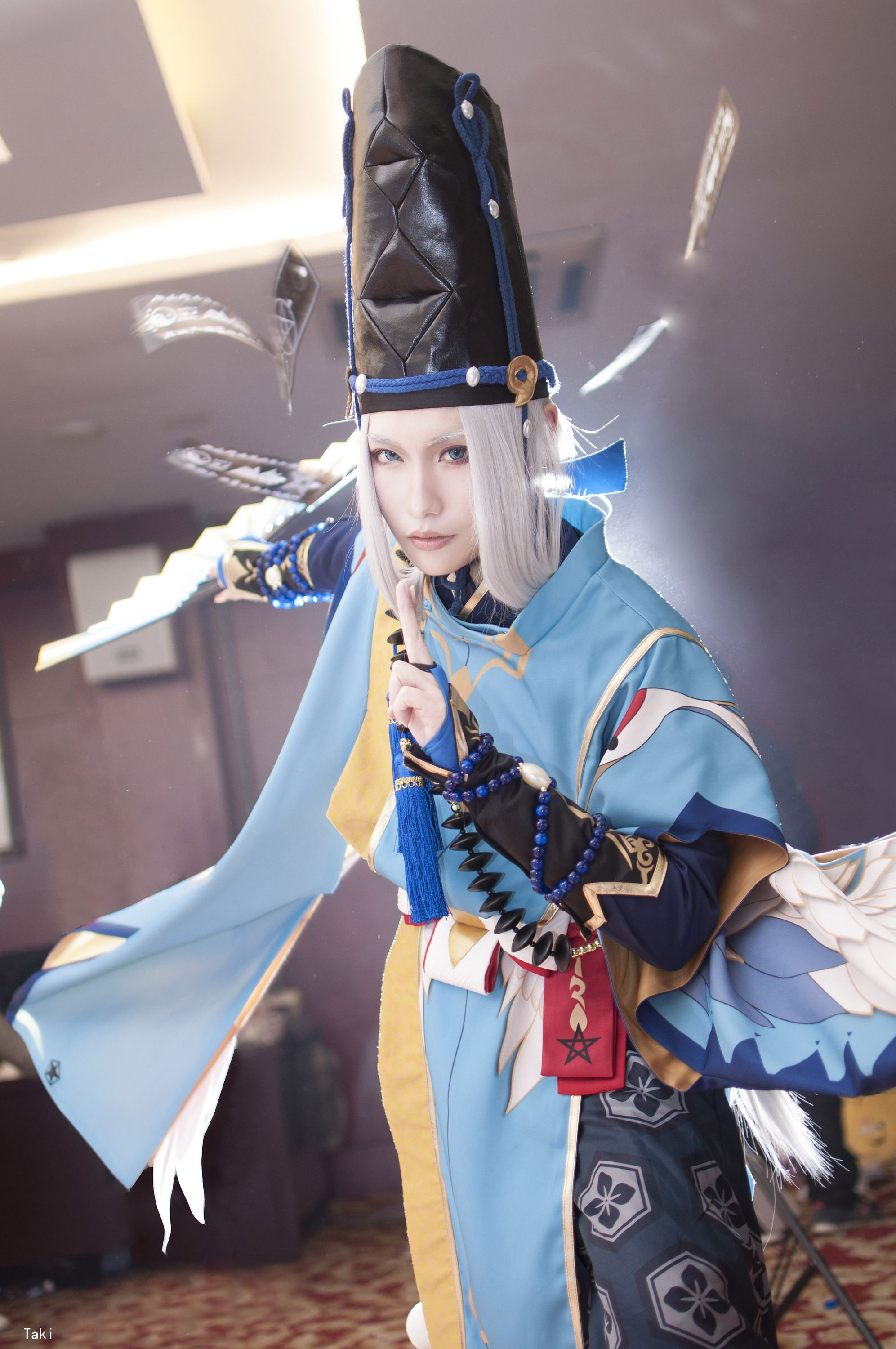Taki (Taki泷三) as Abe No Seimei of Onmyoji Mobile Games