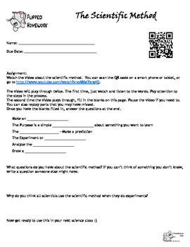 Super Teacher Worksheet Com Pdf Scientific Method Flipped Lesson  Scientific Method Scientific  Area Model Worksheets Excel with Reading Comprehension Inference Worksheets Word Scientific Method Flipped Lesson Worksheets For Letter G Pdf