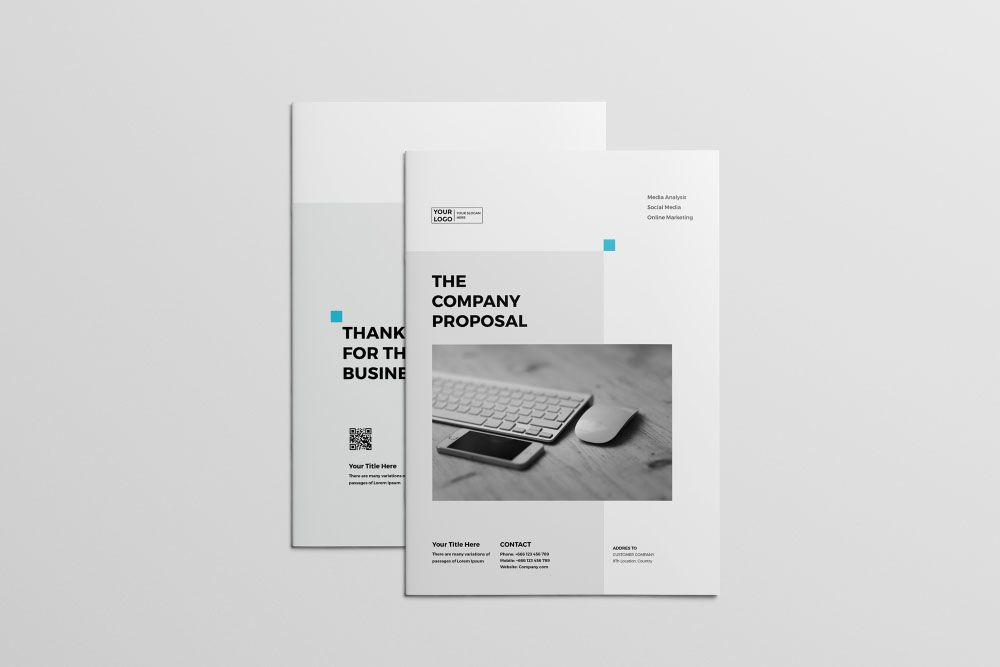 Professional Proposal Template - Theme Raid design graphique - professional proposal templates
