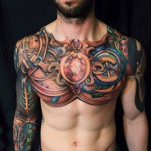 Nom De Zeus 2 Cool Tattoos For Guys Chest Tattoo Men Tattoos For Guys Badass