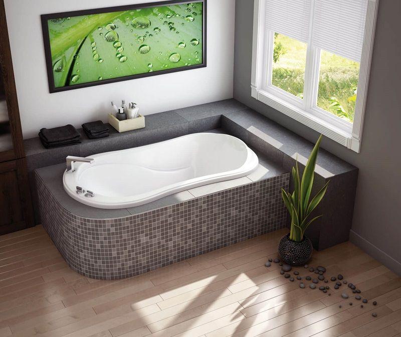 Murmur 6034 Corner Bathtub Corner Tub Bathtub Dimensions