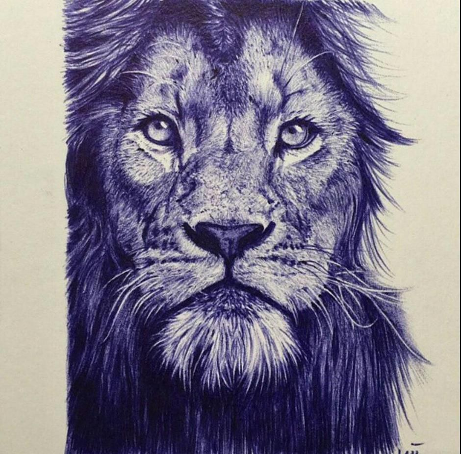 Account Suspended Ballpoint Pen Art Biro Drawing Art Drawings Sketches Simple