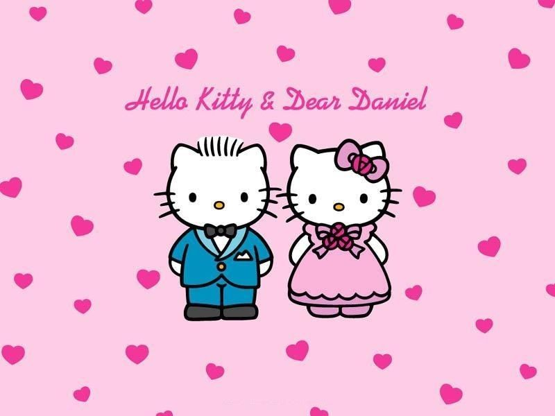 Maries Manor Hello Kitty: Details About Hello Kitty And Dear Daniel 26 Iron On