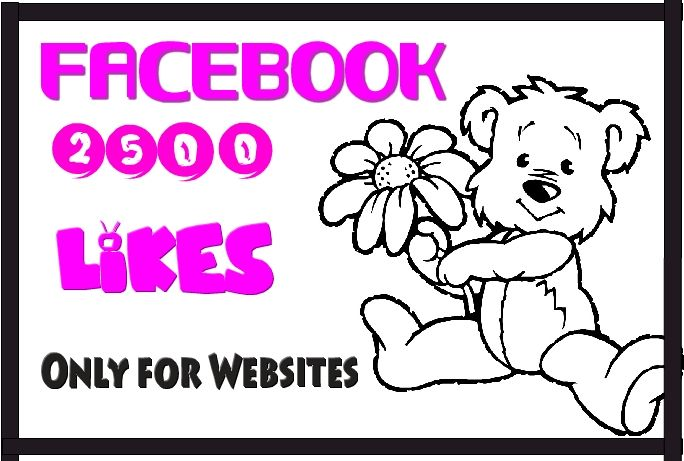 withanage: give 2500 USA facebook likes for websites Not for Fanpage for $5, on fiverr.com