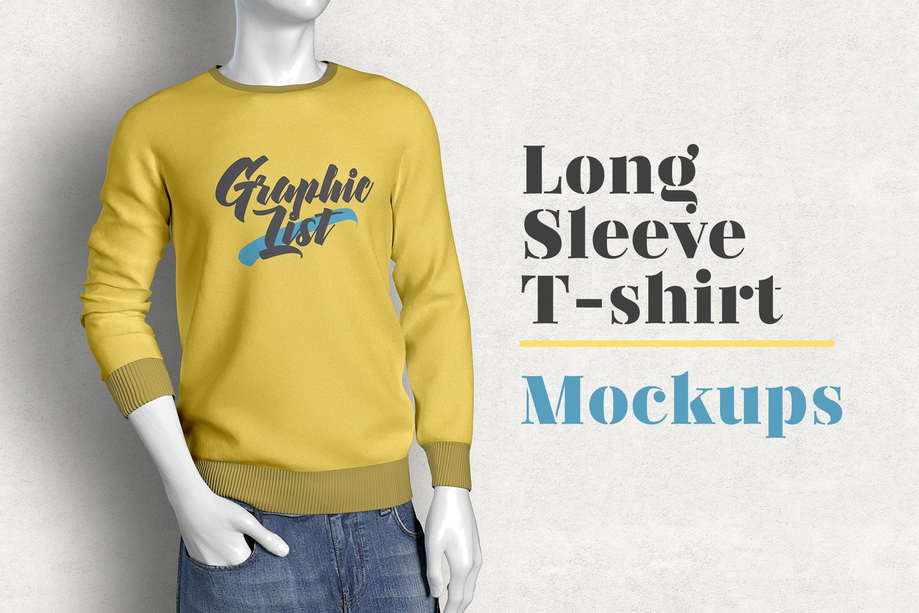 Download Long Sleeve T Shirt Mockups In 2020 Shirt Mockup Tshirt Mockup Design Mockup Free