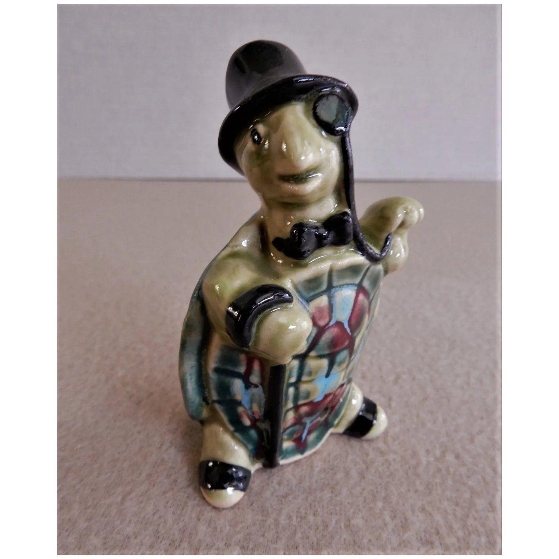 "Ceramic Arts Studio, Madison, WI ""Standing Dapper Turtle"