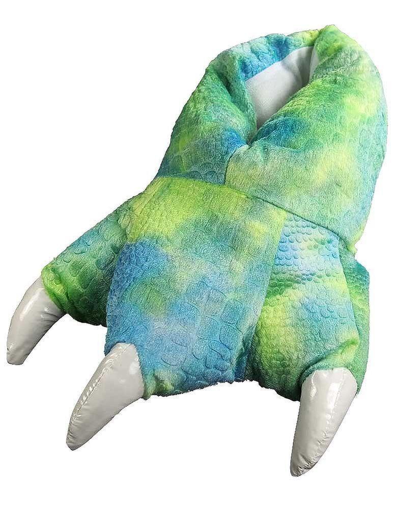 Wishpets Grizzly Bear Animal Soft Paw Claw Slippers Shoe Size M #Wishpets