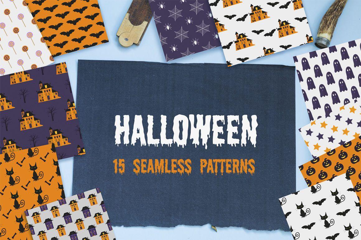Halloween Patterns By Pixmass Patterns