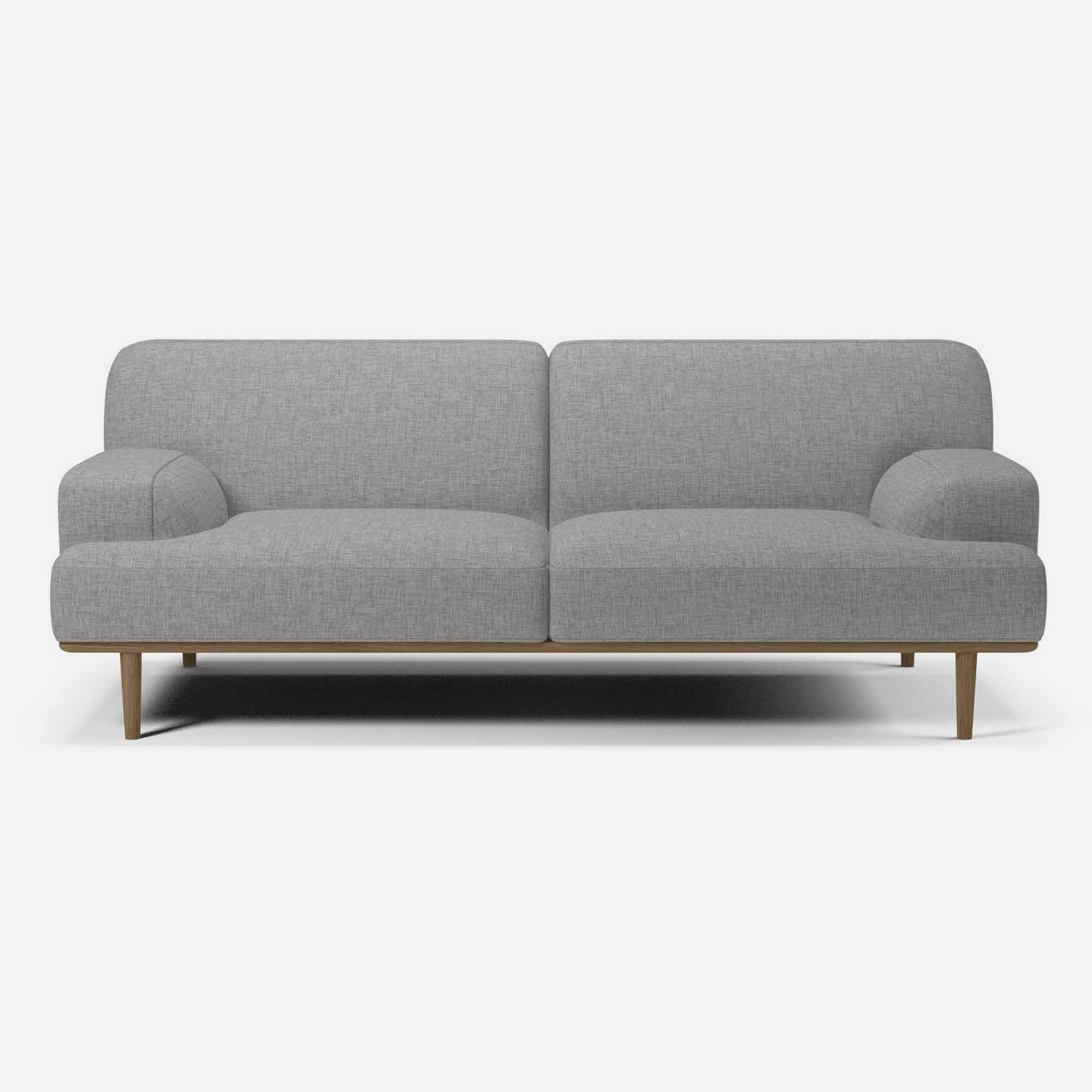 Canape Madison 2 Places 1 2 Nantes Light Grey Bolia Canape Cuir Canape Lit Design Et Canape Angle Convertible