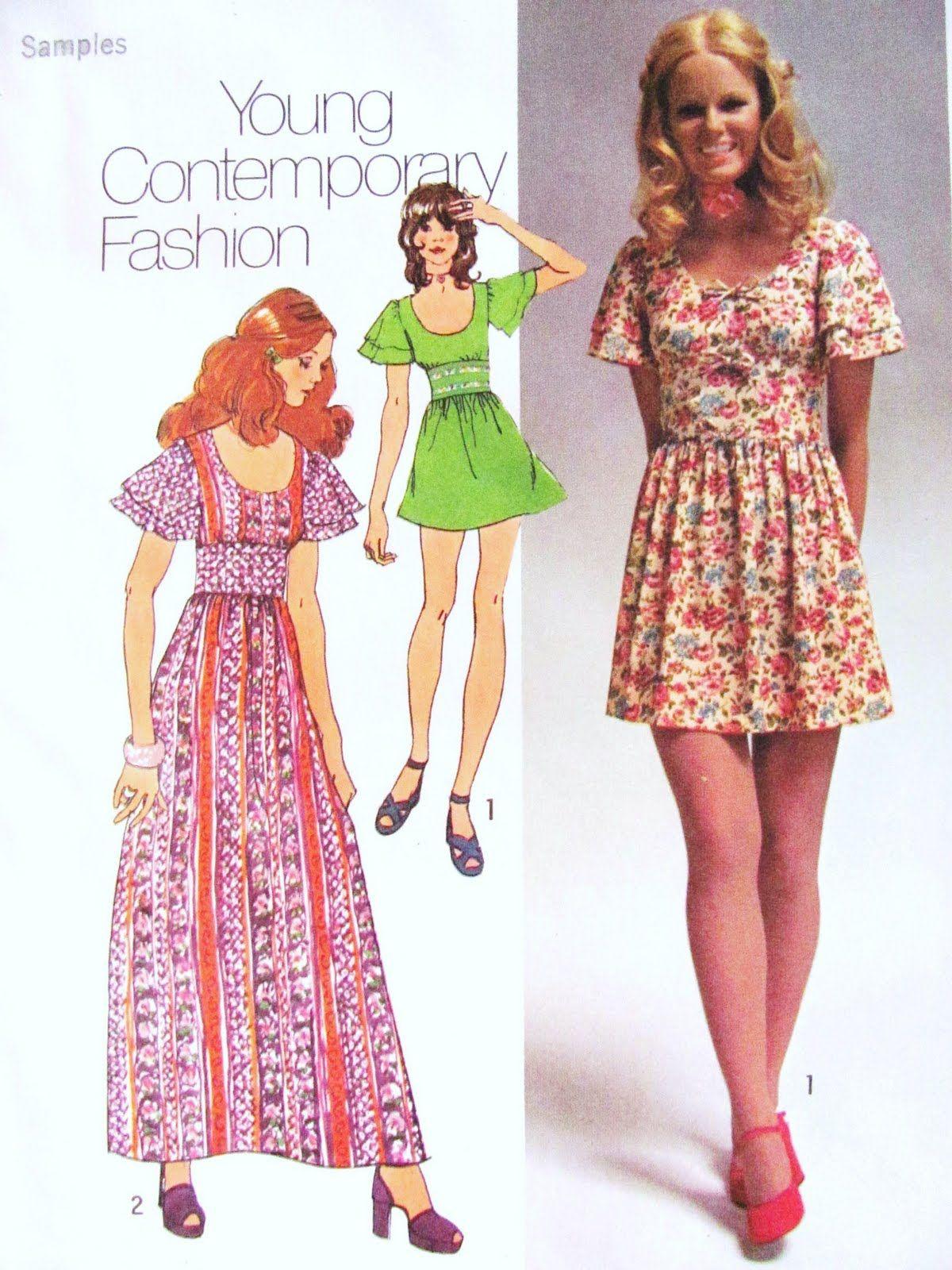 1970s Dress Patterns Fashion 1970dresspattern   Семидесятые ... 0c95886dba