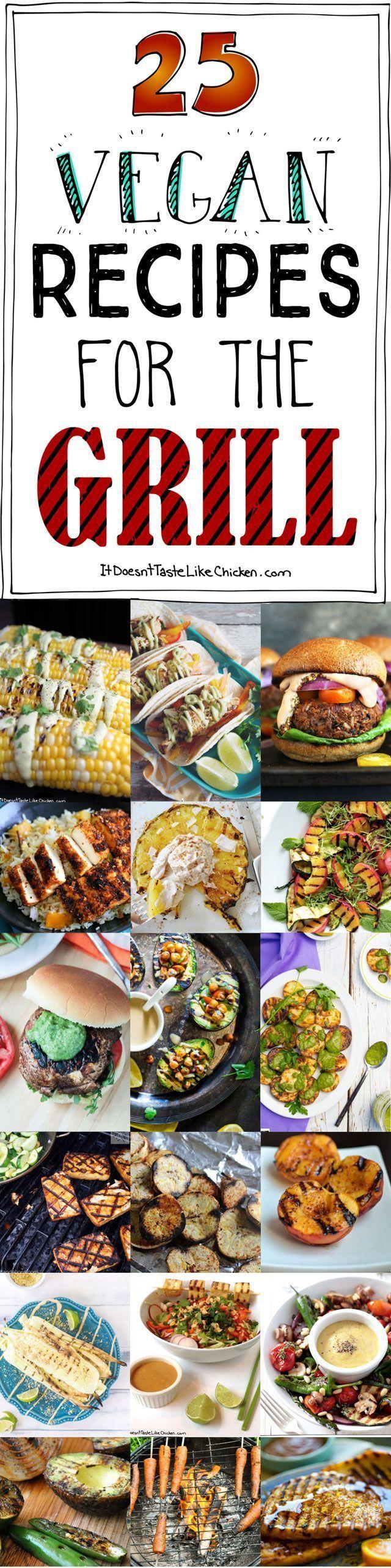 25 Vegan Recipes For The Grill A Very Vegan Summer Vegan